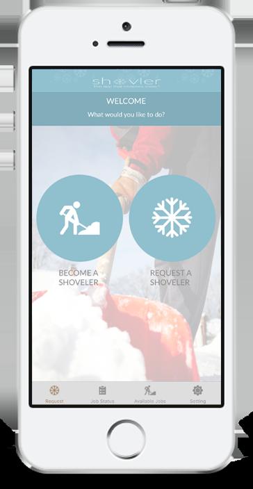 Shovler The Snow Shoveler App